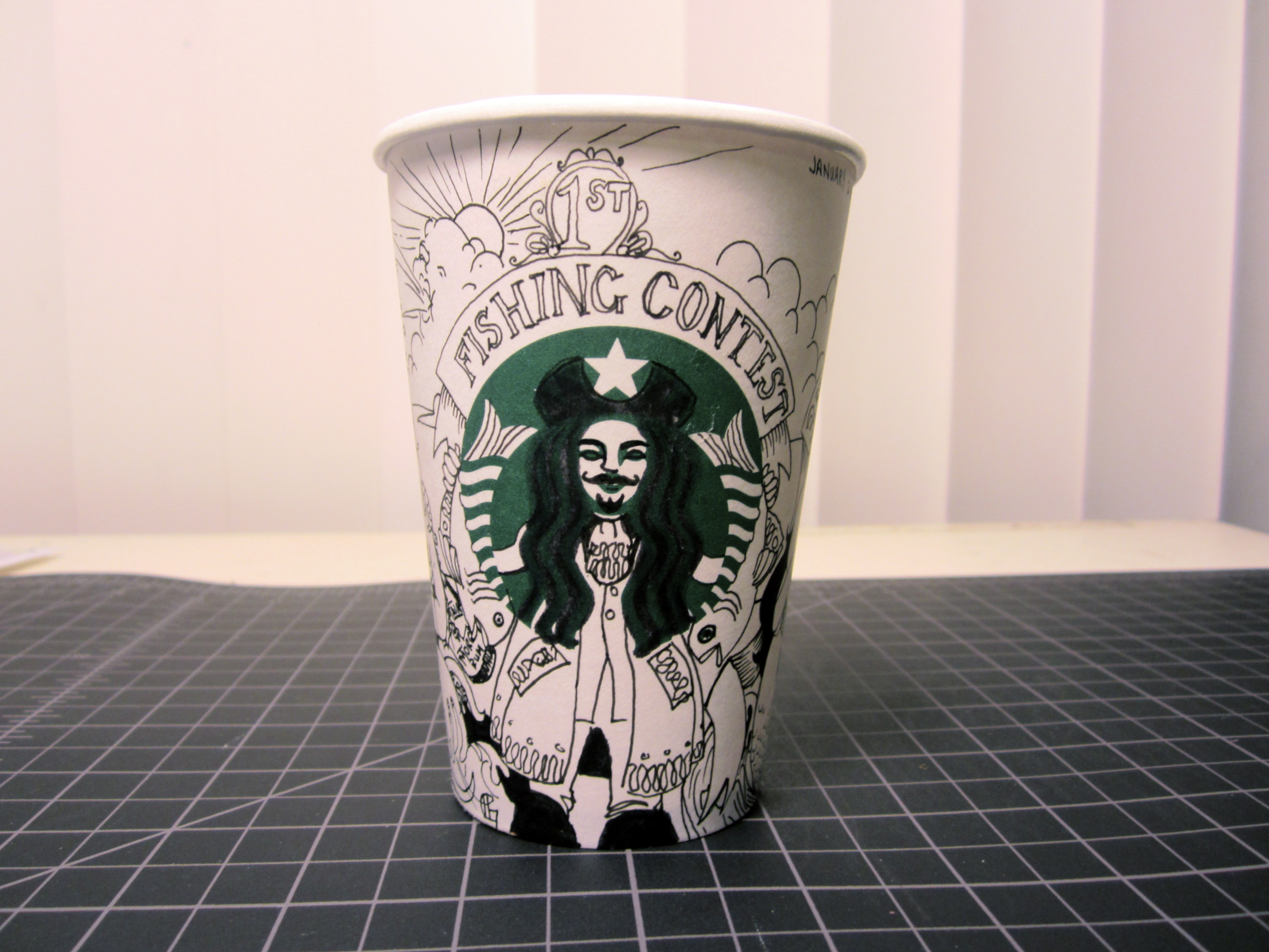 The Starbucks Mermaid Clearly Has Some Captain In Her