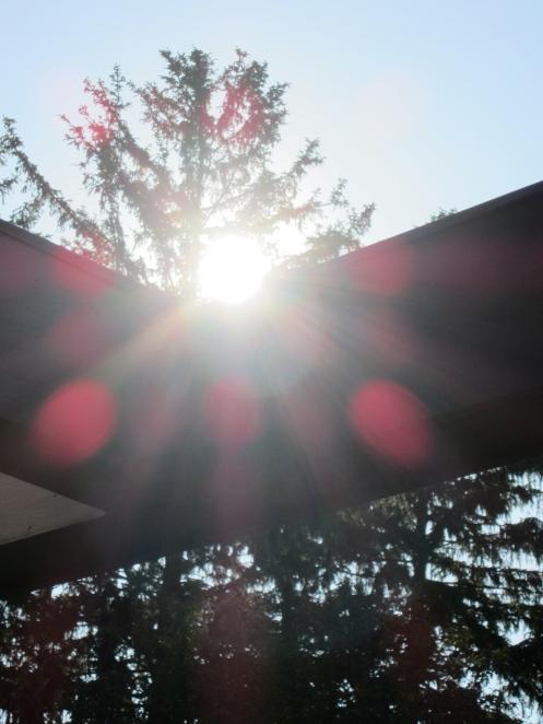 Go ahead: stare riiiiight into the sun... you'll be fine.