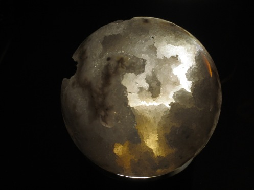 Shoot for the moon or get a degree in Geology because this is actually a rock.