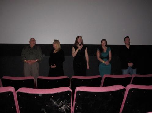 Q&A with Ron Dean, Jan Kaschner, me, Katy Sullivan and Pete Garlock