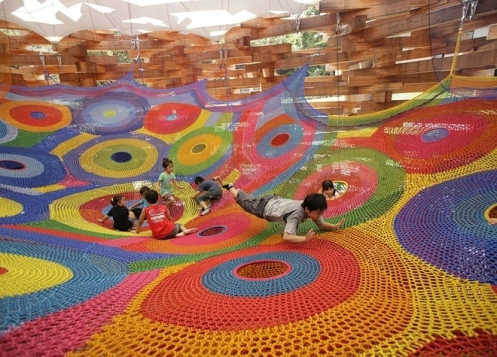 If only my brain had a built in  crocheted Fun Zone.
