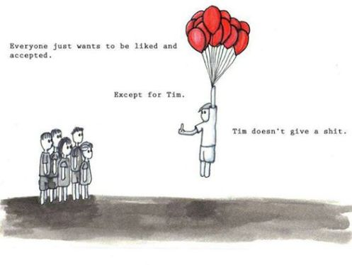 Tim is like the books that I don't understand.