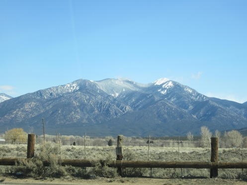 Funny... my distant mountain looks a lot like Taos...