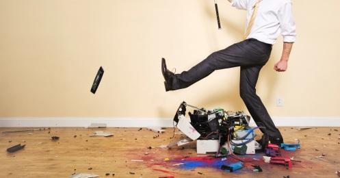 I'm a big believer in percussive maintenance myself...