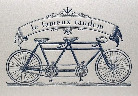 """French for """"Bicycle Built for TERROR"""""""