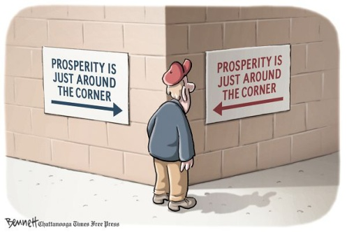 You know... just go with your gut. Clay Bennett, Chattanooga Times Free Press